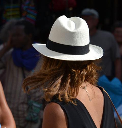 PANAMA borsalino chapeau été