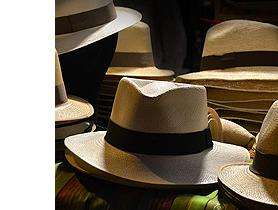 chapeau d'été en paille PANAMA
